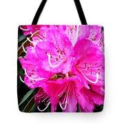 Glowing Pink Tote Bag