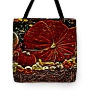 Glowing Pumpkins Tote Bag