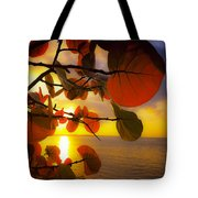 Glowing Red II Tote Bag