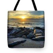 Glowing Rocks Tote Bag
