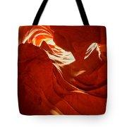 Glowing Sandstone Ledges Tote Bag