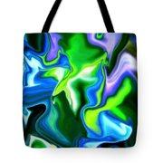Glowing Stem Tote Bag