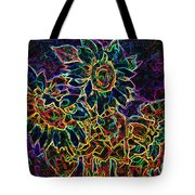 Glowing Sunflowers Tote Bag