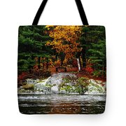 Glowing Tranquility Tote Bag