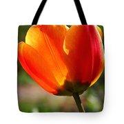 Glowing Tulip Tote Bag