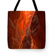 Glowing Walls Of Buckskin Gulch Tote Bag