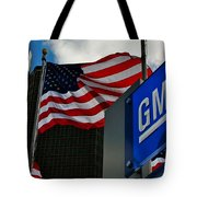 Gm Flags Tote Bag