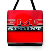 Gmc Sprint 001 Tote Bag