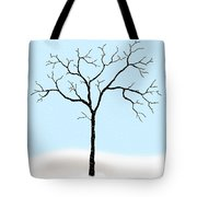 Gnarled In Winter Tote Bag