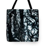 Gnarled Vines Surround A Tree Tote Bag