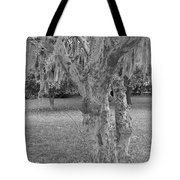 Gnarly - Black And White Tote Bag