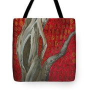 Gnarly Autumn Tree Tote Bag