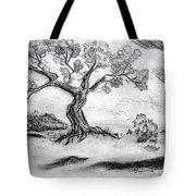 Gnarly Oak Tote Bag