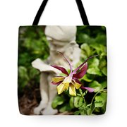 Gnome And Columbine Tote Bag
