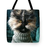 Go Ahead And Say It Tote Bag