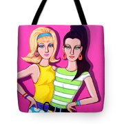 Go-go Girls Tote Bag