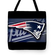 Go Patriots Tote Bag