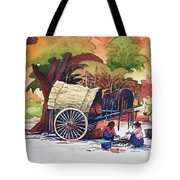 Go To Pagoda Tote Bag