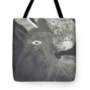 Goat And Nux Tote Bag