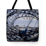 Goat Island Funnel Tote Bag