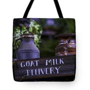 Goat Milk Delivery Tote Bag