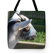 Goat Minature Tote Bag