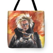 Goblin King At His Best Tote Bag
