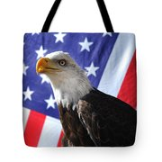 God Bless Our Heros Tote Bag