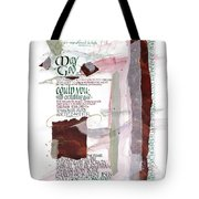 God Of Hope Tote Bag by Judy Dodds