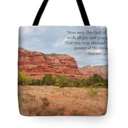 God Of Hope Tote Bag