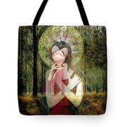 God Of Love, Beautiful Santhia Tote Bag