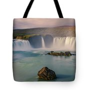 Godafoss In Iceland Tote Bag