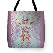 Goddess Breaking Chains Tote Bag