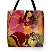 Goddess Durga Tote Bag