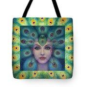 Goddess Isis Visions Tote Bag