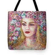 Goddess Of Good Fortune Tote Bag