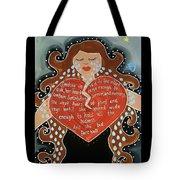 Goddess Of Grief Tote Bag