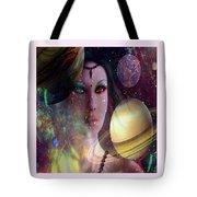 Goddess Of Planets Tote Bag