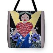 Goddess Of The Arts Tote Bag