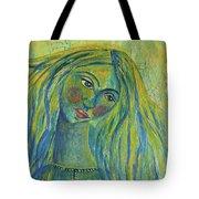 Goddess Of The North Sea Tote Bag
