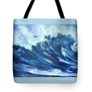 Goddess Of The Waves Tote Bag