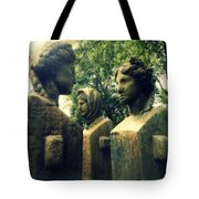 Goddess Statues Tote Bag