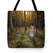Goddess Walk Tote Bag