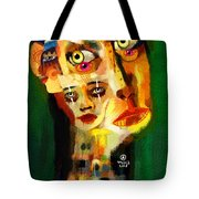Goddess With Many Faces 671 Tote Bag