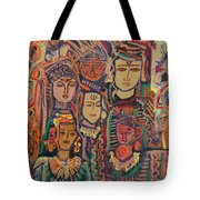 Gods And Angels Tote Bag
