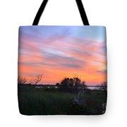 God's Artistry On Pamlico Sound Tote Bag