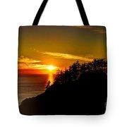 God's Glow Tote Bag