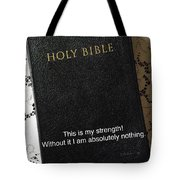 God's Instruction Manual Tote Bag