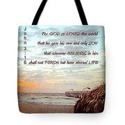 Gods Love Tote Bag